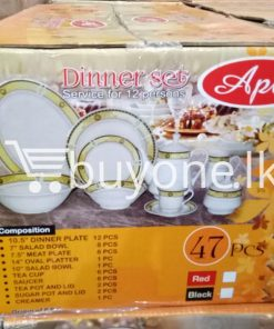 apl 47pcs dinner set service for 12 persons home and kitchen special best offer buy one lk sri lanka 99526 247x296 - APL 47pcs Dinner Set Service for 12 Persons