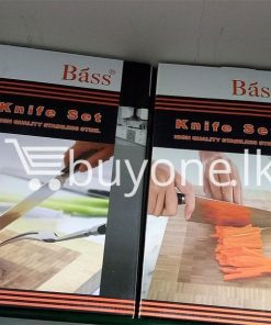 bass knife set high quality stainless steel home and kitchen special best offer buy one lk sri lanka 99663 247x296 - Bass Knife Set High Quality Stainless Steel