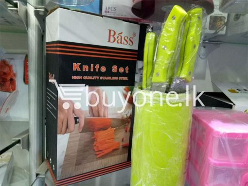 bass knife set high quality stainless steel home and kitchen special best offer buy one lk sri lanka 99665 510x383 - Bass Knife Set High Quality Stainless Steel