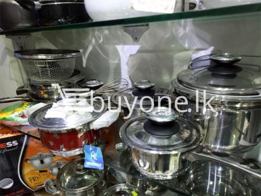 germany cookware set 1810 stainless stainless steel 32pcs set home and kitchen special best offer buy one lk sri lanka 99607 510x383 - Germany Cookware Set 18/10 Stainless Stainless Steel 32pcs Set