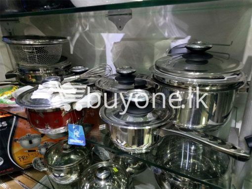 germany cookware set 1810 stainless stainless steel 32pcs set home and kitchen special best offer buy one lk sri lanka 99608 510x383 - Germany Cookware Set 18/10 Stainless Stainless Steel 32pcs Set
