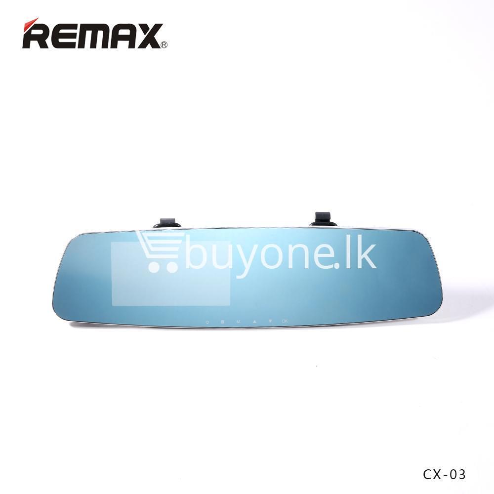 Original Remax CX-03 Car DVR Dashboard Camera Night Vision Camera with  Sensor
