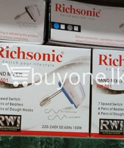 richsonic enrich your lifestyle hand mixer with 7 speed switch rh 501 home and kitchen special best offer buy one lk sri lanka 99431 247x296 - Richsonic Enrich your lifestyle Hand Mixer with 7 Speed Switch RH-501