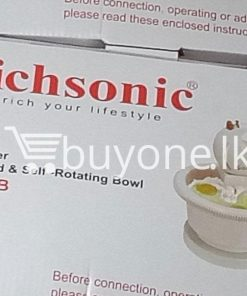 richsonic enrich your lifestyle hand mixer with stand self rotating bowl rh 502b home and kitchen special best offer buy one lk sri lanka 99507 247x296 - Richsonic Enrich your lifestyle Hand Mixer with Stand & Self-Rotating Bowl RH-502B