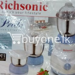 richsonic enrich your lifestyle pride mixer grinder rhmg 228 home and kitchen special best offer buy one lk sri lanka 99457 247x247 - Richsonic Enrich your lifestyle Pride Mixer Grinder RHMG-228