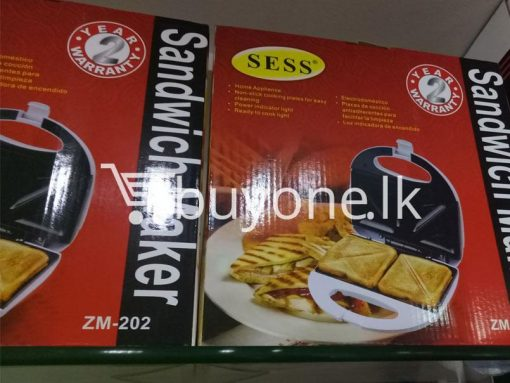 sess sandwich maker home and kitchen special best offer buy one lk sri lanka 99654 510x383 - SESS Sandwich Maker