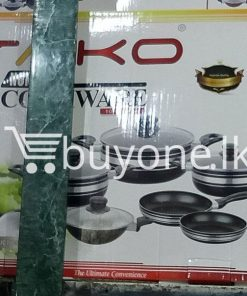 taiko non stick cookware 10pcs full set induction bottom healthy cooking home and kitchen special best offer buy one lk sri lanka 99440 247x296 - Taiko Non Stick Cookware 10pcs Full Set Induction Bottom Healthy Cooking