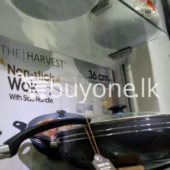 the harvest premium homeware 36cm non stick wok with side handle home and kitchen special best offer buy one lk sri lanka 99580 247x247 - The Harvest Premium Homeware-36cm Non Stick Wok with Side Handle
