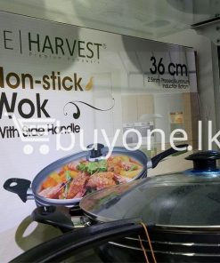 the harvest premium homeware 36cm non stick wok with side handle home and kitchen special best offer buy one lk sri lanka 99581 247x296 - The Harvest Premium Homeware-36cm Non Stick Wok with Side Handle