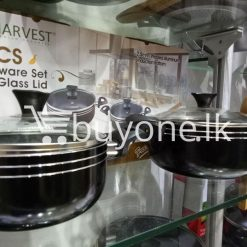 the harvest premium homeware 7pcs cookware set with glass lid home and kitchen special best offer buy one lk sri lanka 99573 247x247 - The Harvest Premium Homeware-7pcs Cookware Set with Glass Lid