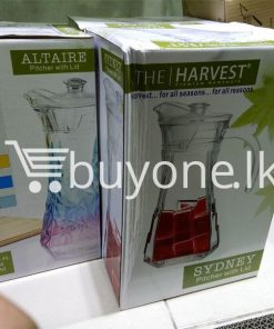 the harvest premium homeware altaire pitcher with lid home and kitchen special best offer buy one lk sri lanka 99729 247x296 - Online Shopping Store in Sri lanka, Latest Mobile Accessories, Latest Electronic Items, Latest Home Kitchen Items in Sri lanka, Stereo Headset with Remote Controller, iPod Usb Charger, Micro USB to USB Cable, Original Phone Charger | Buyone.lk Homepage