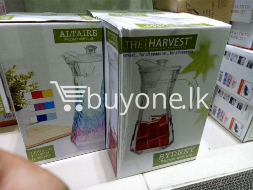 the harvest premium homeware-altaire pitcher with lid home-and-kitchen special best offer buy one lk sri lanka 99729.jpg
