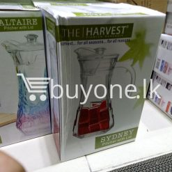 the harvest premium homeware sydney pitcher with lid harvest for all seasons for all reasons home and kitchen special best offer buy one lk sri lanka 99724 247x247 - The Harvest Premium Homeware-Sydney Pitcher with Lid Harvest for all seasons for all reasons