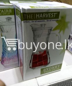 the harvest premium homeware sydney pitcher with lid harvest for all seasons for all reasons home and kitchen special best offer buy one lk sri lanka 99724 247x296 - Online Shopping Store in Sri lanka, Latest Mobile Accessories, Latest Electronic Items, Latest Home Kitchen Items in Sri lanka, Stereo Headset with Remote Controller, iPod Usb Charger, Micro USB to USB Cable, Original Phone Charger | Buyone.lk Homepage