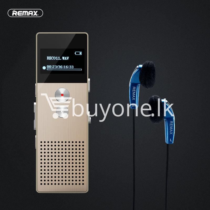 REMAX RP1 Professional Audio Recorder Business Support Telephone Recording