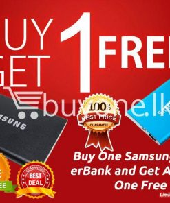 special offer buy1 get1 free samsung 12000mah power bank limited time period mobile phone accessories special best offer buy one lk sri lanka 81988 247x296 - Special Offer Buy1 Get1 Free Samsung 12000Mah Power Bank Limited Time Period