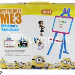 3in1 despicable me 3 childrens sketchpad baby care toys special best offer buy one lk sri lanka 51386 247x247 - 3in1 DESPICABLE ME 3 Childrens SketchPad