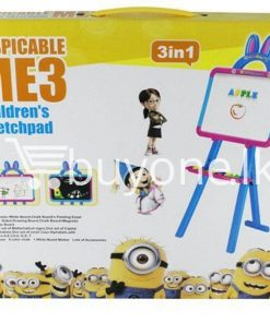 3in1 despicable me 3 childrens sketchpad baby care toys special best offer buy one lk sri lanka 51386 247x296 - 3in1 DESPICABLE ME 3 Childrens SketchPad