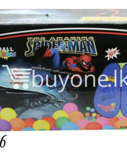 the amazing spider man balls 100pc set with pack baby care toys special best offer buy one lk sri lanka 51181 247x296 - The Amazing Spider Man Balls 100pc Set with Pack