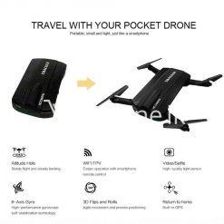 mini selfie tracker foldable pocket rc quadcopter drone altitude hold fpv with wifi camera mobile store special best offer buy one lk sri lanka 30753 247x247 - Mini Selfie Tracker Foldable Pocket RC Quadcopter Drone Altitude Hold FPV with WIFI Camera