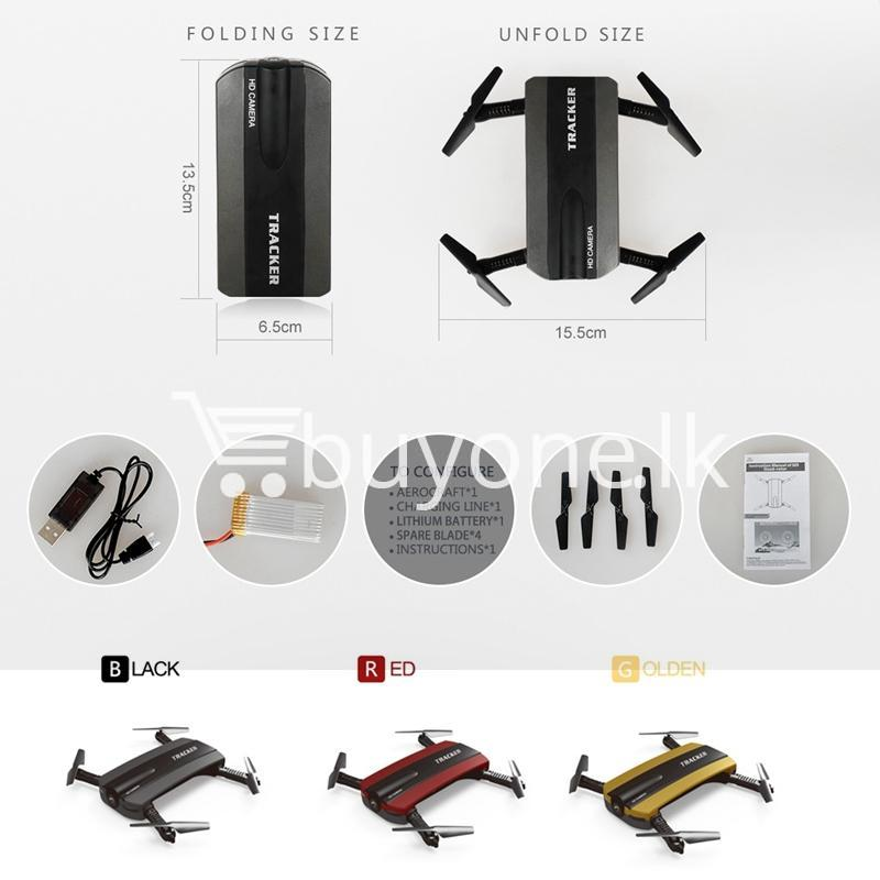 Mini Selfie Tracker Foldable Pocket RC Quadcopter Drone Altitude Hold FPV  with WIFI Camera