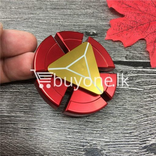original avengers iron man metal education fidget spinner baby care toys special best offer buy one lk sri lanka 08203 510x510 - Original Avengers Iron Man Metal Education Fidget Spinner