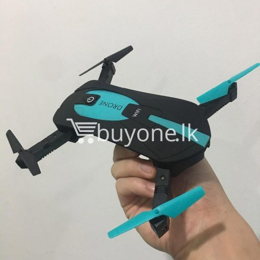 original jy018 advance pocket drone with hd wifi camera foldable g sensor mobile phone accessories special best offer buy one lk sri lanka 07581 510x510 - Original JY018 Advance Pocket Drone with HD WiFi Camera Foldable G-sensor