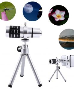 12x zoom camera telephoto telescope lens mount tripod kit for iphone xiaomi samsung huawei htc universal mobile phone accessories special best offer buy one lk sri lanka 06547 247x296 - 12X Zoom Camera Telephoto Telescope Lens + Mount Tripod Kit For iPhone Xiaomi Samsung Huawei HTC Universal