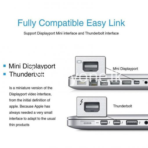 mini displayport thunderbolt to vga converter 1080p cables for macbook imac more computer accessories special best offer buy one lk sri lanka 43906 510x510 - Mini Displayport Thunderbolt To VGA Converter 1080P Cables For Macbook, iMac, More