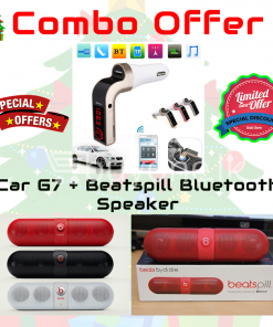 special offer best deals send gifts beatspill bluetooth speaker car G7 fm emulator buy one 247x296 - Special Discount Combo Offer: Car G7 + Beatspill Bluetooth Speaker