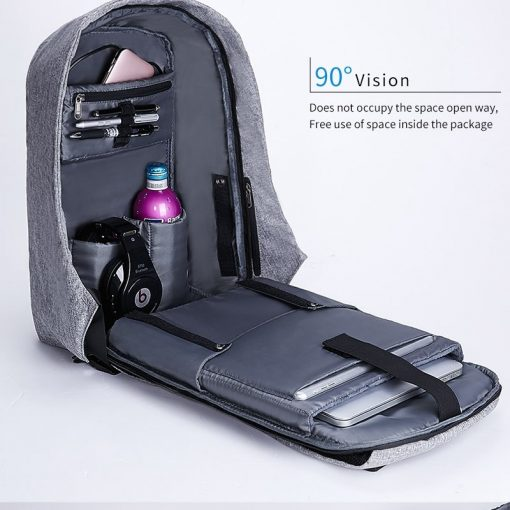 new multi function waterproof anti theft laptop backpacks with usb charging computer accessories special best offer buy one lk sri lanka 67007 510x510 - New Multi function Waterproof Anti theft Laptop Backpacks with USB Charging